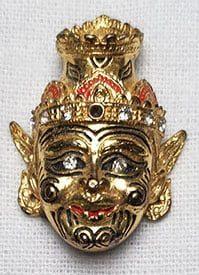 Ruesi Mask Amulet small